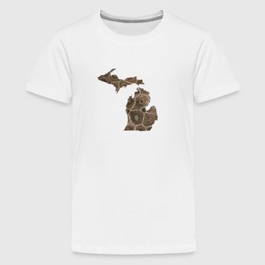 Michigan Stone Petoskey - Kids' Premium T-Shirt