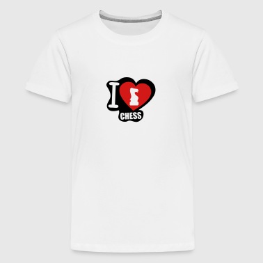 I Love Chess i love chess - Kids' Premium T-Shirt