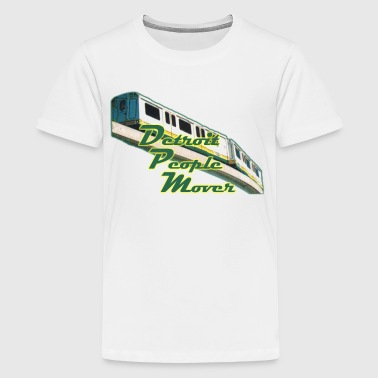 Old School Detroit Detroit People Mover Old School - Kids' Premium T-Shirt