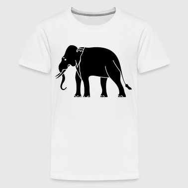 Siamese Asian Elephant - Kids' Premium T-Shirt