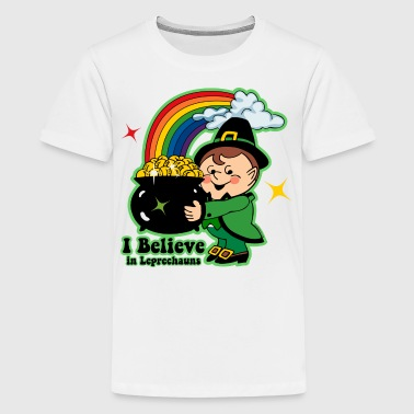 Believe In Leprechauns - Kids' Premium T-Shirt