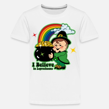 Kids Leprechaun Believe In Leprechauns - Kids' Premium T-Shirt