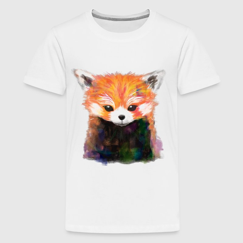 Red Panda Painting - Kids' Premium T-Shirt