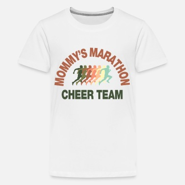 Team Cheer marathon cheer team - Kids' Premium T-Shirt