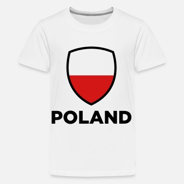 Countries Regions Cities National Flag of Poland - Kids' Premium T-Shirt