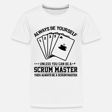 Agility Scrum Master Agile Software Development - Kids' Premium T-Shirt