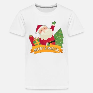Out Merry & Magical Christmas Santa Claus Presents - Kids' Premium T-Shirt