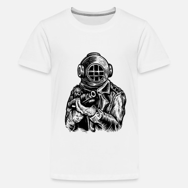 Deep Sea Diver Diver Deep Sea Hunter - Kids' Premium T-Shirt