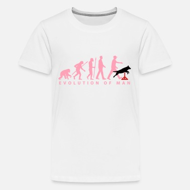 Agility evolution_agility_dogsport_10_2016_b_3c - Kids' Premium T-Shirt