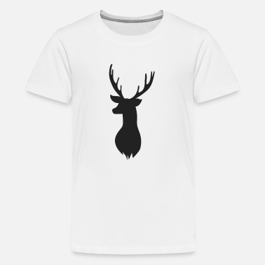 Deer Head Deer Head - Kids' Premium T-Shirt