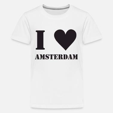 I Love Heart Amsterdam Kids T-Shirt