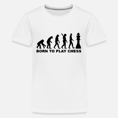 Darts bornt to play chess - Kids' Premium T-Shirt