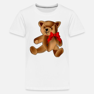 Stuffed Animal Teddy Bear - Kids' Premium T-Shirt
