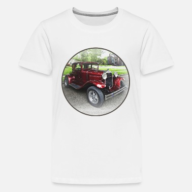 Late Early Maroon Model A - Kids' Premium T-Shirt