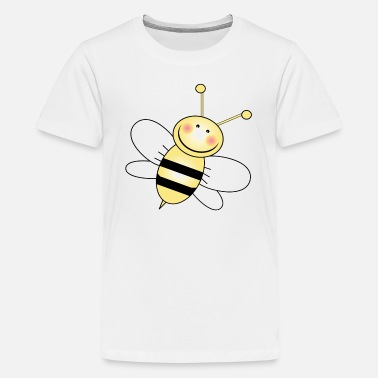 Bumble Bee Bumble Bee White Wings - Kids' Premium T-Shirt