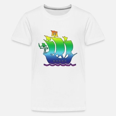 Pirate Ship pirate ship multicolor 2 - Kids' Premium T-Shirt