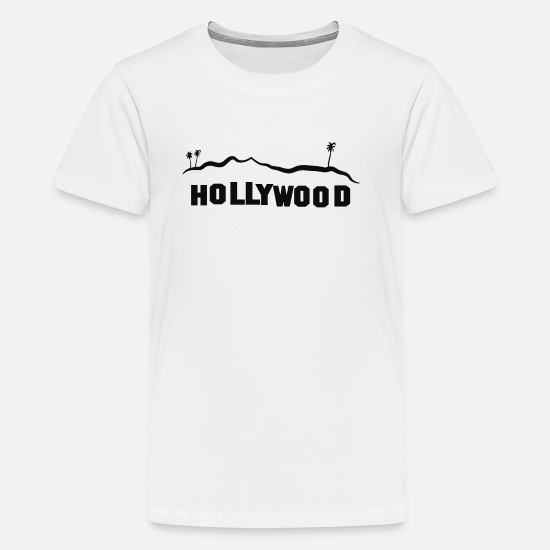 Hollywood T-Shirts - Hollywood - Kids' Premium T-Shirt white