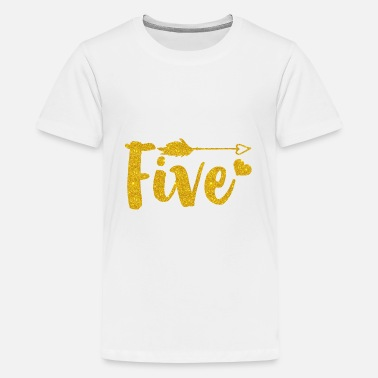 5 Year Old Birthday Outfit/Girl 5 Year Old Birthday - Kids' Premium T-Shirt