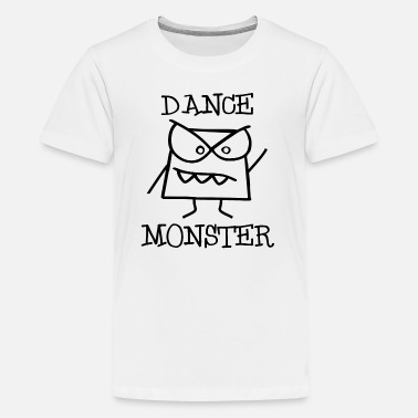 Raggae Dance Monster on the Disco Dancefloor 2 - Kids' Premium T-Shirt