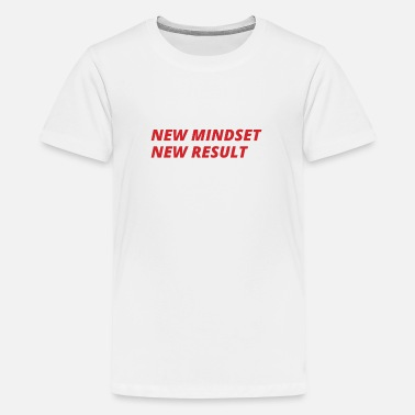 Big New Mindset New Result - Kids' Premium T-Shirt