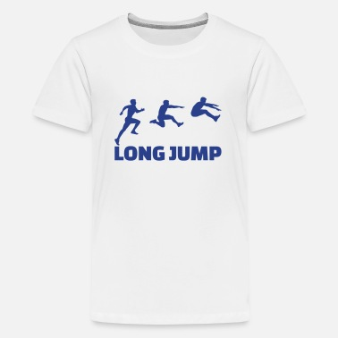 Long Jump Long Jump - Kids' Premium T-Shirt