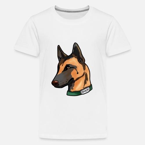 22d6e31f Kids' Premium T-ShirtBelgian Malinois Dog Puppy Doggie Present Cartoon