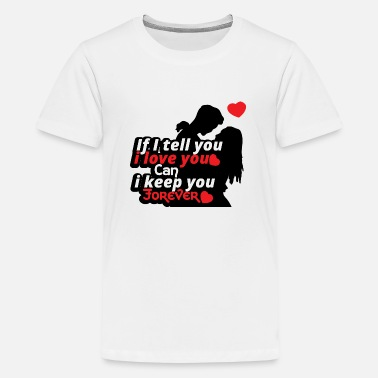 Sex Sayings Love relationship Valentines day gift Couple - Kids' Premium T-Shirt