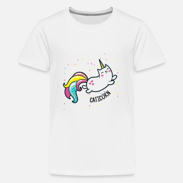 CATiCORN like Unicorn - Kids' Premium T-Shirt