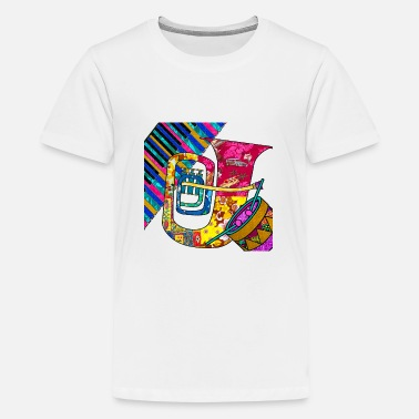 60s Retro Music Groove - Kids' Premium T-Shirt