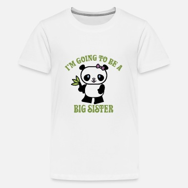 Sister I'm Going To Be A Big Sister - Kids' Premium T-Shirt
