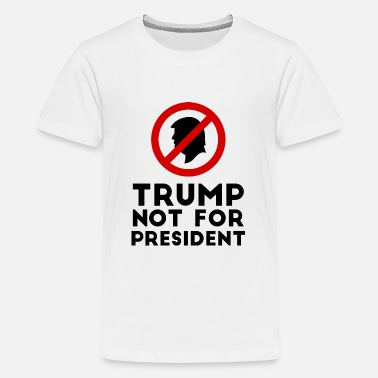 Stop The Ban Trump not for president 2020 forbidden dont sign - Kids' Premium T-Shirt