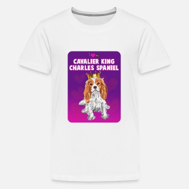 Charles King Charls spaniel - Kids' Premium T-Shirt