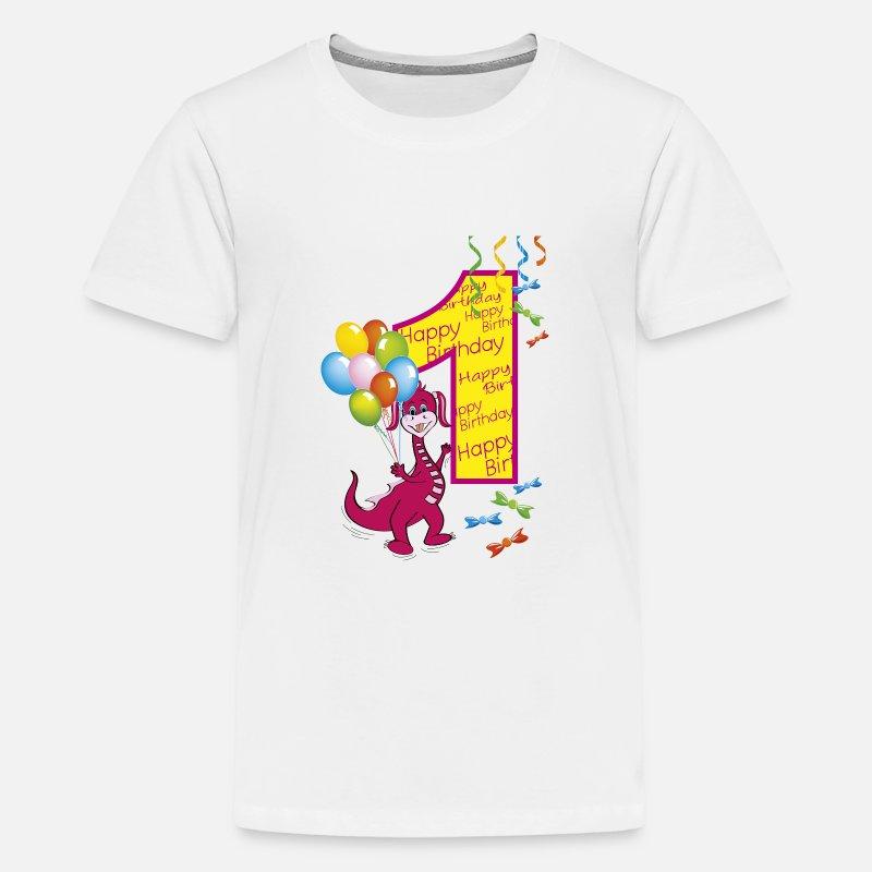 669a2f9af6bb 1st birthday first birthday one year Kids' Premium T-Shirt | Spreadshirt