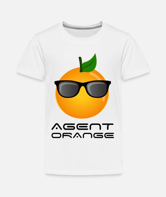 Fruit T-Shirts - Agent Orange - Kids' Premium T-Shirt white