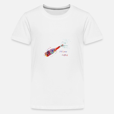 Champagne Bottles Champagne bottle, Let's pop bottles - Kids' Premium T-Shirt