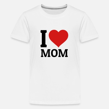 Love I love Mom - Kids' Premium T-Shirt