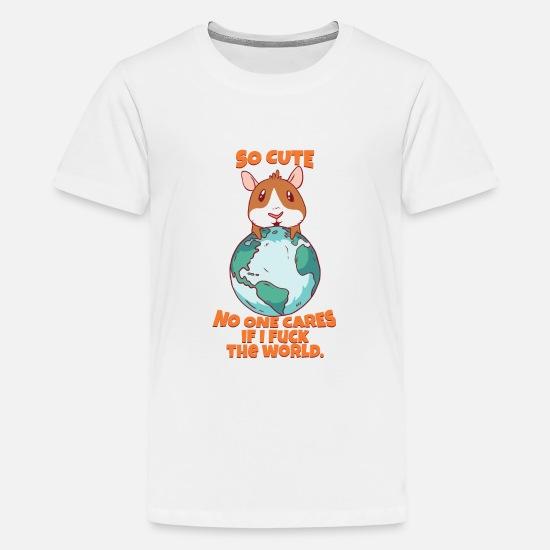 3b8f598d2 Guinea Pig T-Shirts - Funny Guinea Pig T-Shirt - Kids' Premium