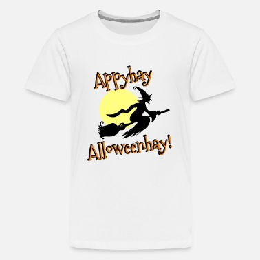 Carve Halloween Witch Pig Latin - Kids' Premium T-Shirt