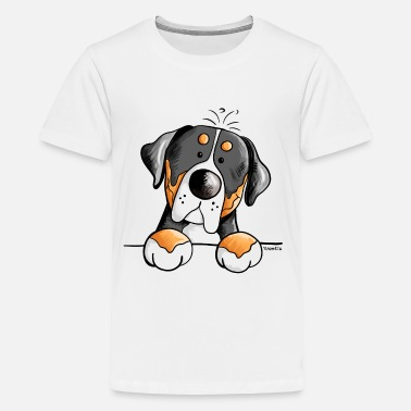 Swiss Cute Greater Swiss Mountain Dog - Gift - Kids' Premium T-Shirt