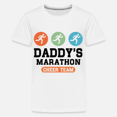 Marathon Dad's Marathon Cheer Team - Kids' Premium T-Shirt