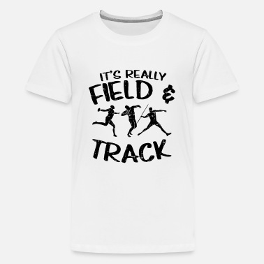 Track And Field Track and Field - Kids' Premium T-Shirt