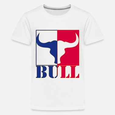 Horoscope strong Bull with two faces - Kids' Premium T-Shirt