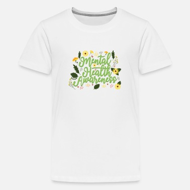 End Mental Health Awareness Month Retro Positive Quote - Kids' Premium T-Shirt