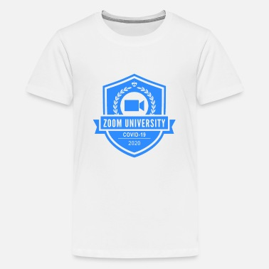 zoom university - Kids' Premium T-Shirt