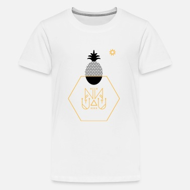 Grafic pineapple summer hot grafic artist - Kids' Premium T-Shirt