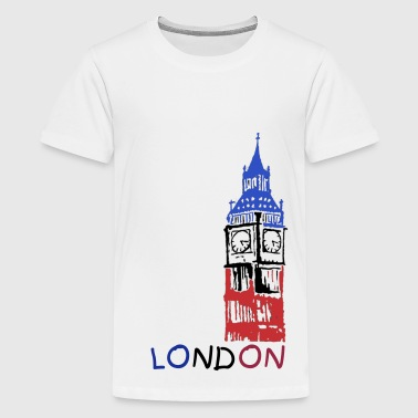 Big Ben Image Colour - Kids' Premium T-Shirt