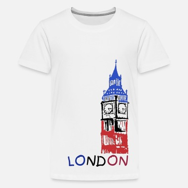 Ben Big Ben Image Colour - Kids' Premium T-Shirt