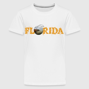 Florida Orange Youth Tee  - Kids' Premium T-Shirt
