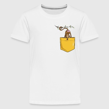 monkey butt pocket - Kids' Premium T-Shirt
