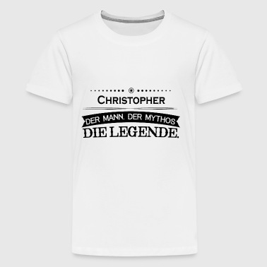 Mythos Legende Vorname Christopher - Kids' Premium T-Shirt